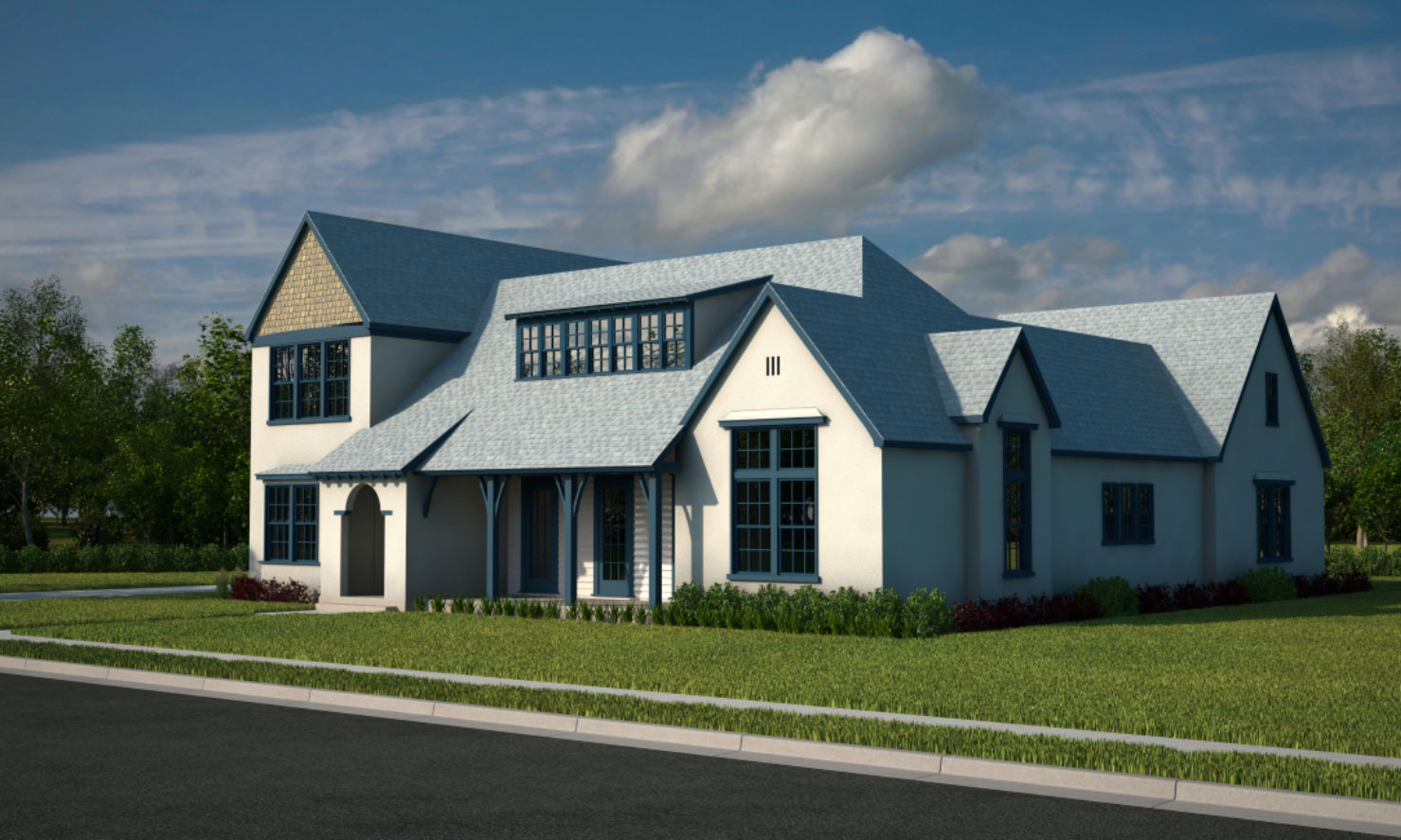 Courtyard rainey homes for Rainey homes